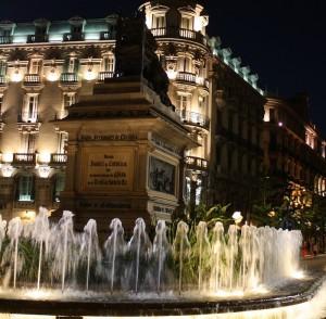 Fuente de Reyes Católicos, Granada