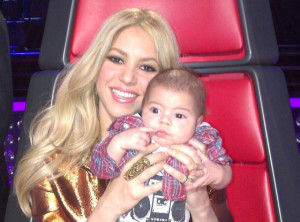 Shakira tiene un bebé